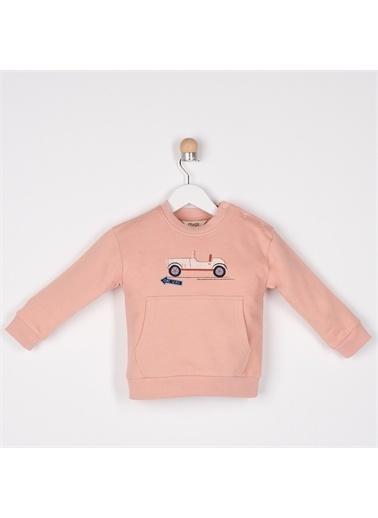 Panço Erkek Bebek Sweatshirt 2111BB08005 Kırmızı